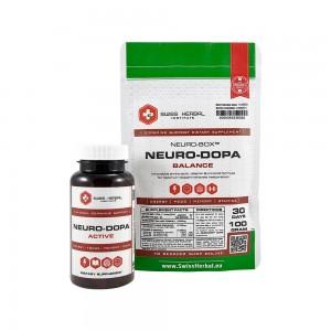 NEURO DOPA zestaw 60 kaps. + 100 G