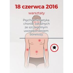 """18.06.2016 – """"Psychoenergetyka chorób zakaźnych"""""""